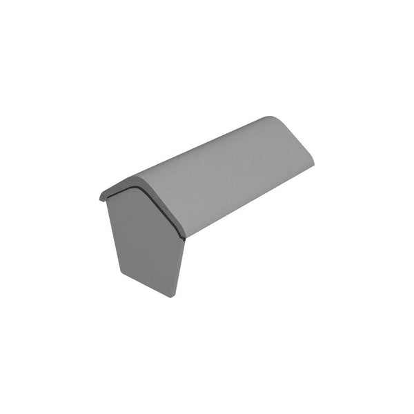 Marley Eternit Traditional Concrete Fitting 457mm Modern Stop End Ridge Tile View