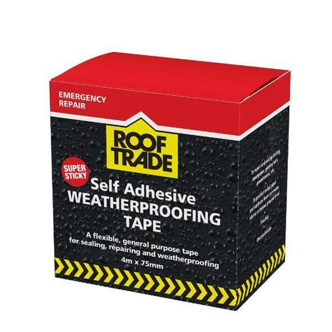 RoofTrade Weatherproofing Tape 4m x 75mm