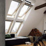 Velux Lacquered Pine Centre Pivot Integra Electric Roof Window additional 10