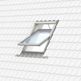 Velux White Painted 15 Degree Centre Pivot Integra Electric Roof Window additional 12