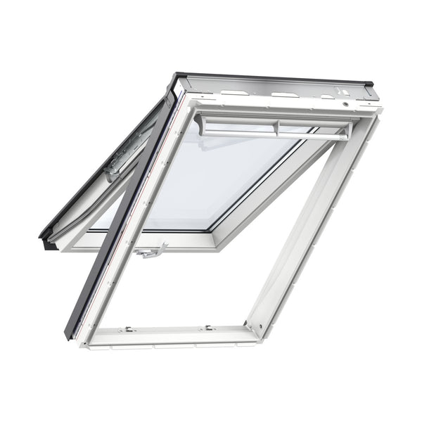 Velux White Polyurethane Top Hung Roof Window 60 Pane