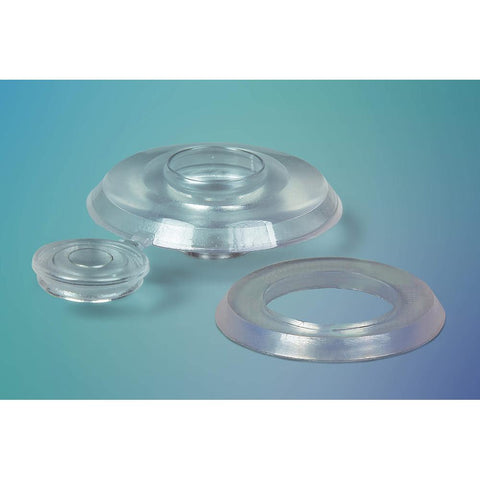Ventura - Polywall Clear Polycarbonate Sheet Fixing Buttons Cap - 50 Per Pack