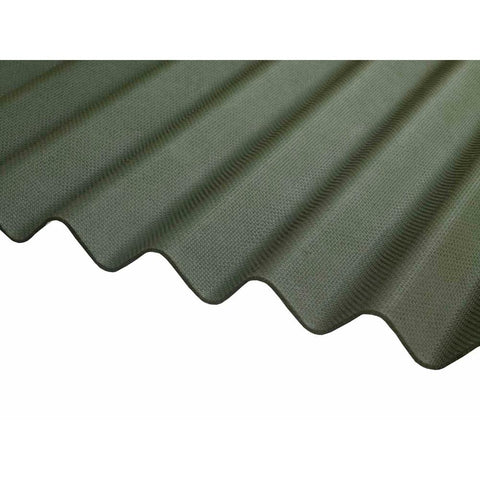 Ventura - Green Corrugated Bitumen Sheet 2000mm X 930mm