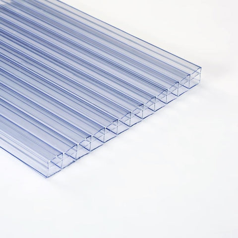 Ventura - Polywall Polycarbonate 3-Wall Sheet Clear 3000mm x 1000mm x 16mm