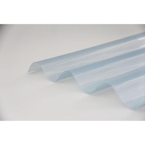 Ventura - Clear CorruPVC Corrugated Sheet 2000mm x 1000mm x 0.7mm