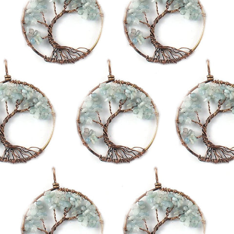 Tree of Life Opalite Necklace