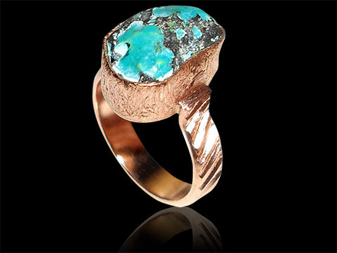 Turquoise Ring of Intuition