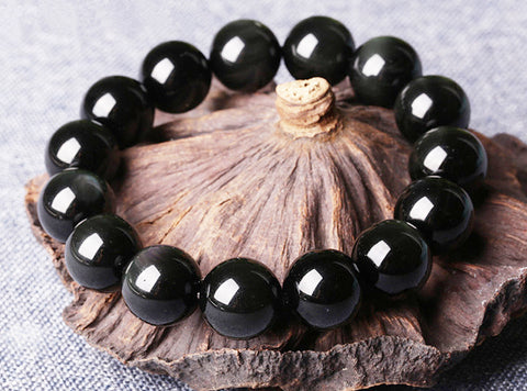 Anti-stress Rainbow Obsidian Bracelet