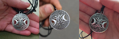 Goddess of Moon Necklace