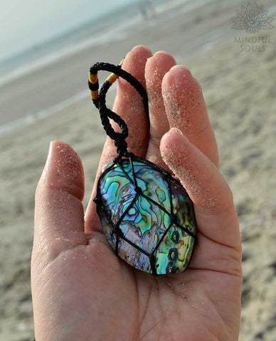 Ocean Spirit Abalone Shell Necklace