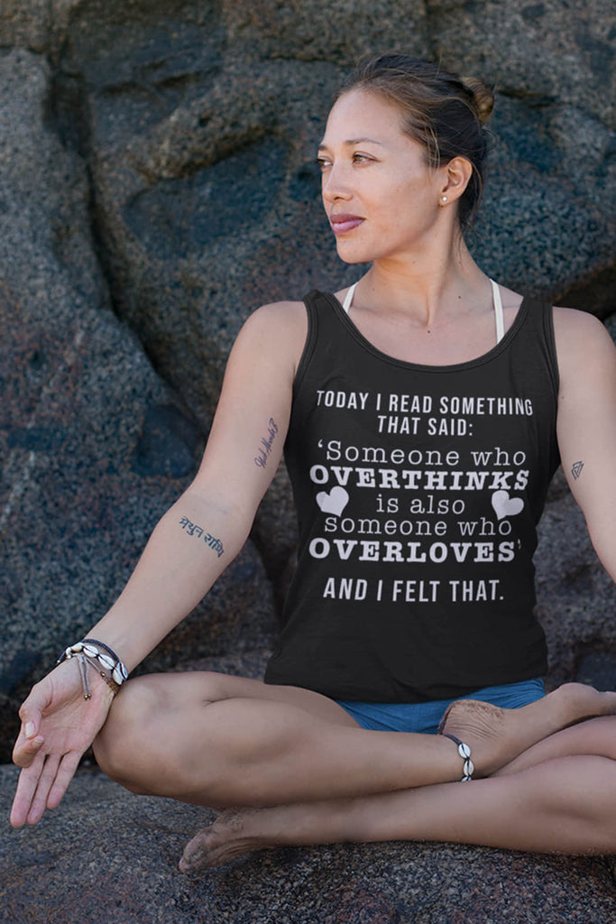 """Quote"" Tank Top"