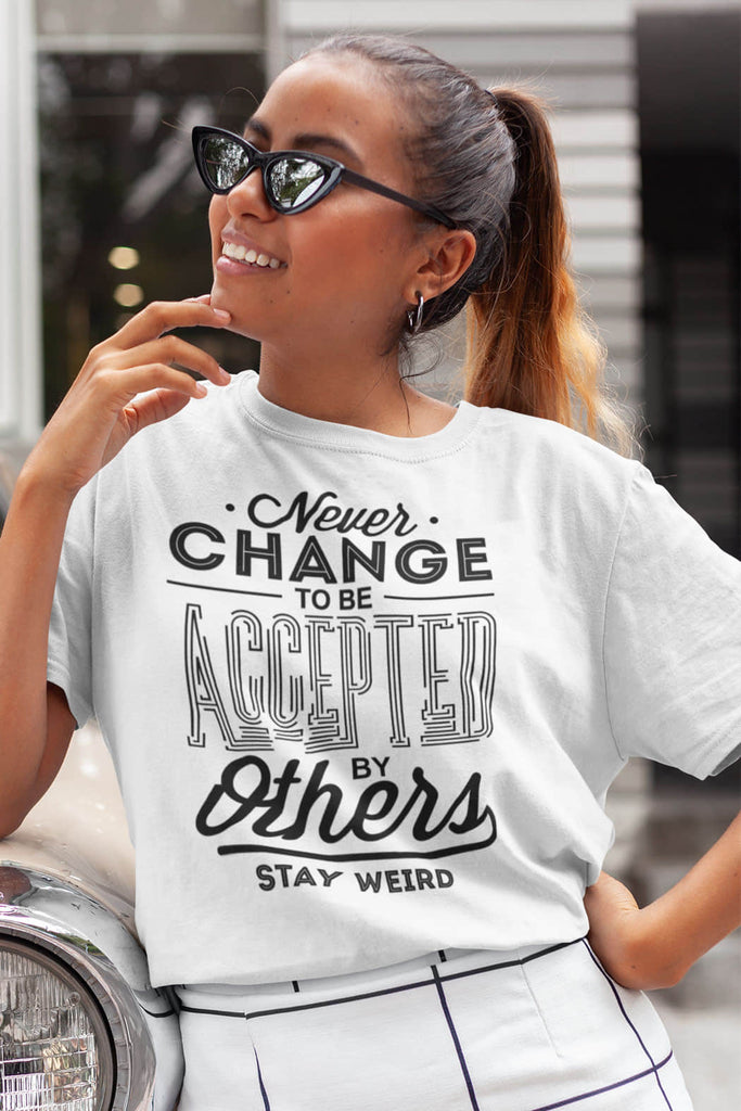 """Never Change"" T-Shirt"