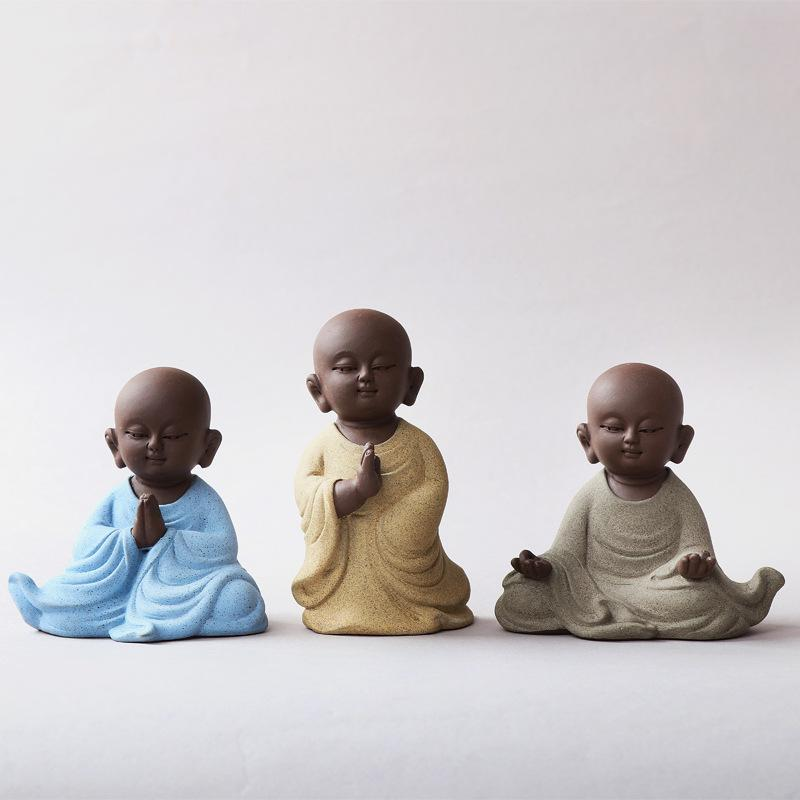 Focusing Buddha Figurines