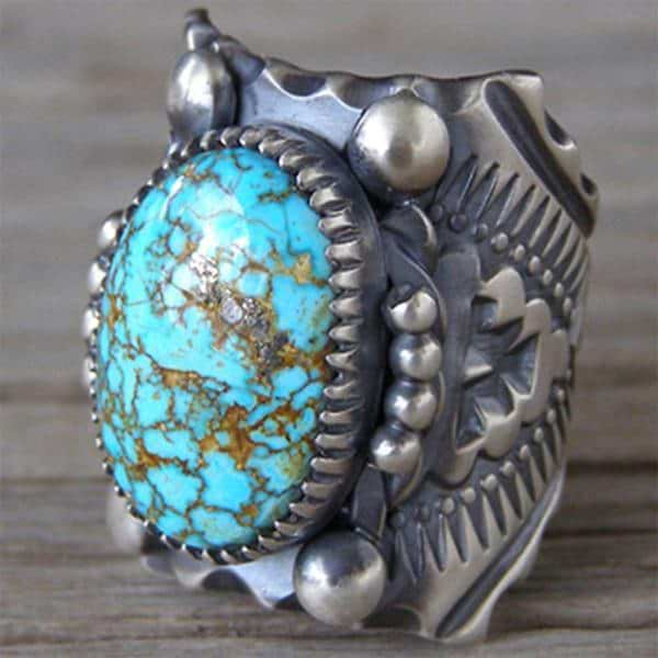 Turquoise Antiquity Ring
