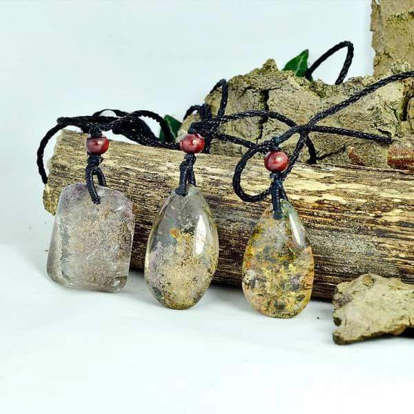 Nature Phantom Quartz Necklace