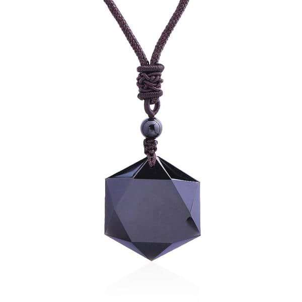 Vitality Obsidian Necklace