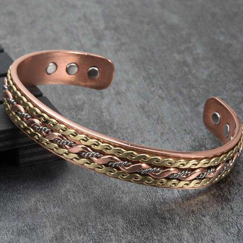 Copper Bracelet - Open Bangle Jewelry