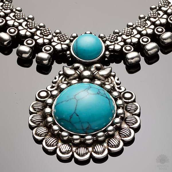 Clairvoyance Turquoise Necklace