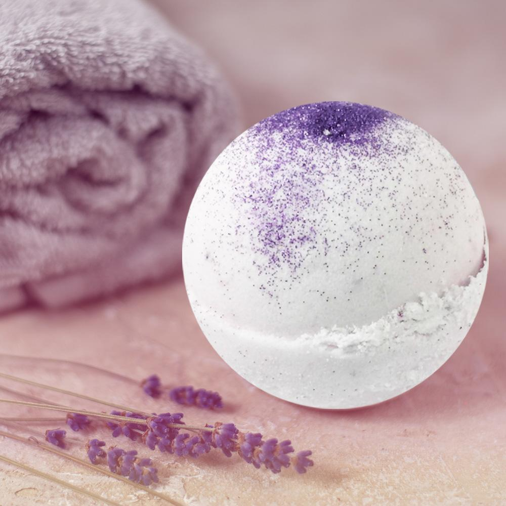 Lavender & Kaolin Clay Bath Bomb