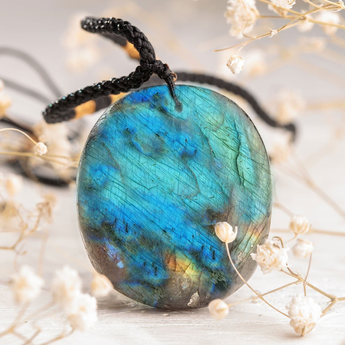 Empowering Labradorite Necklace