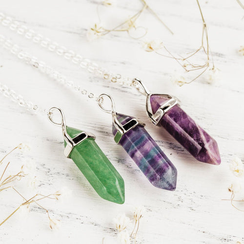 Anti-Stress Fluorite Necklace