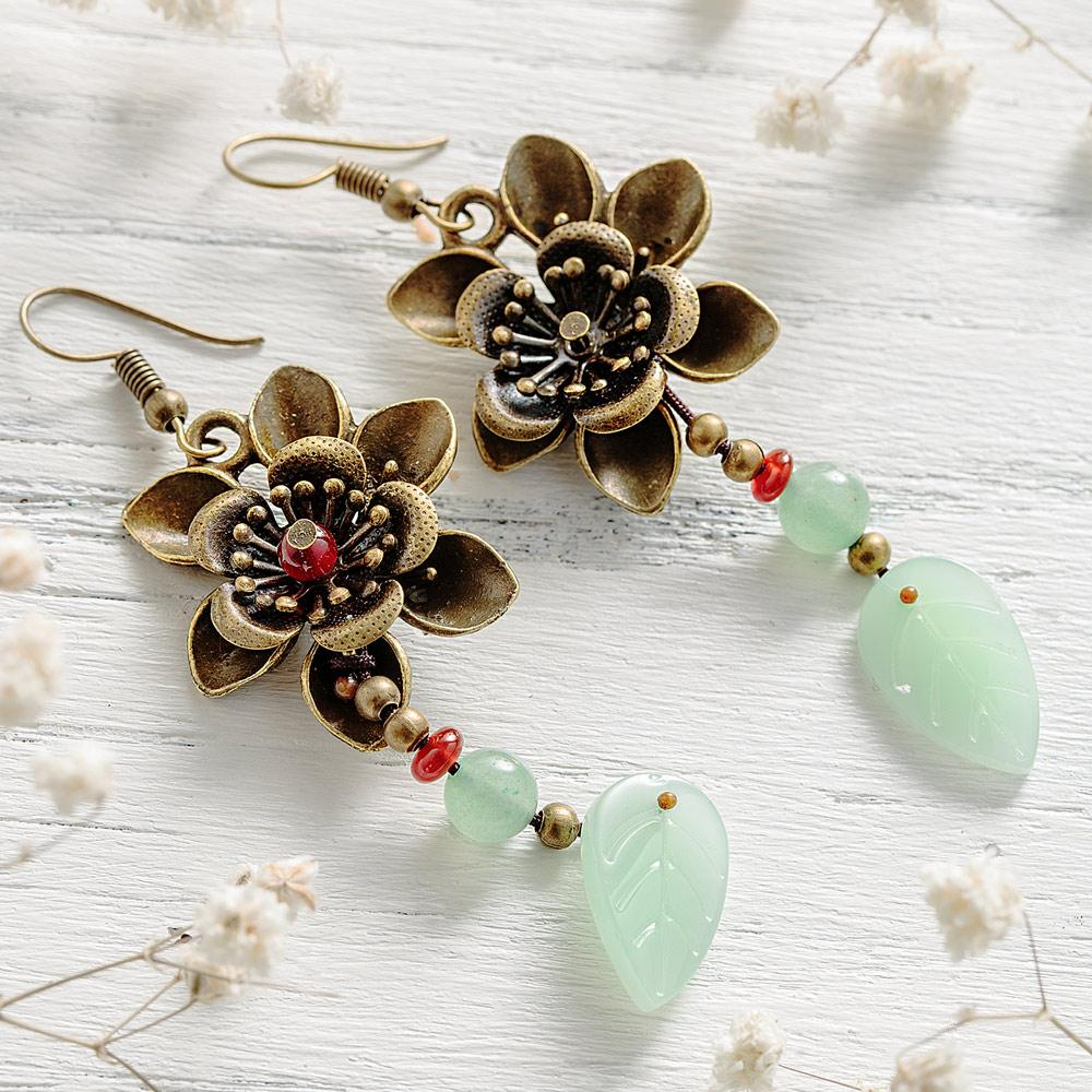 Blossom Aventurine Earrings