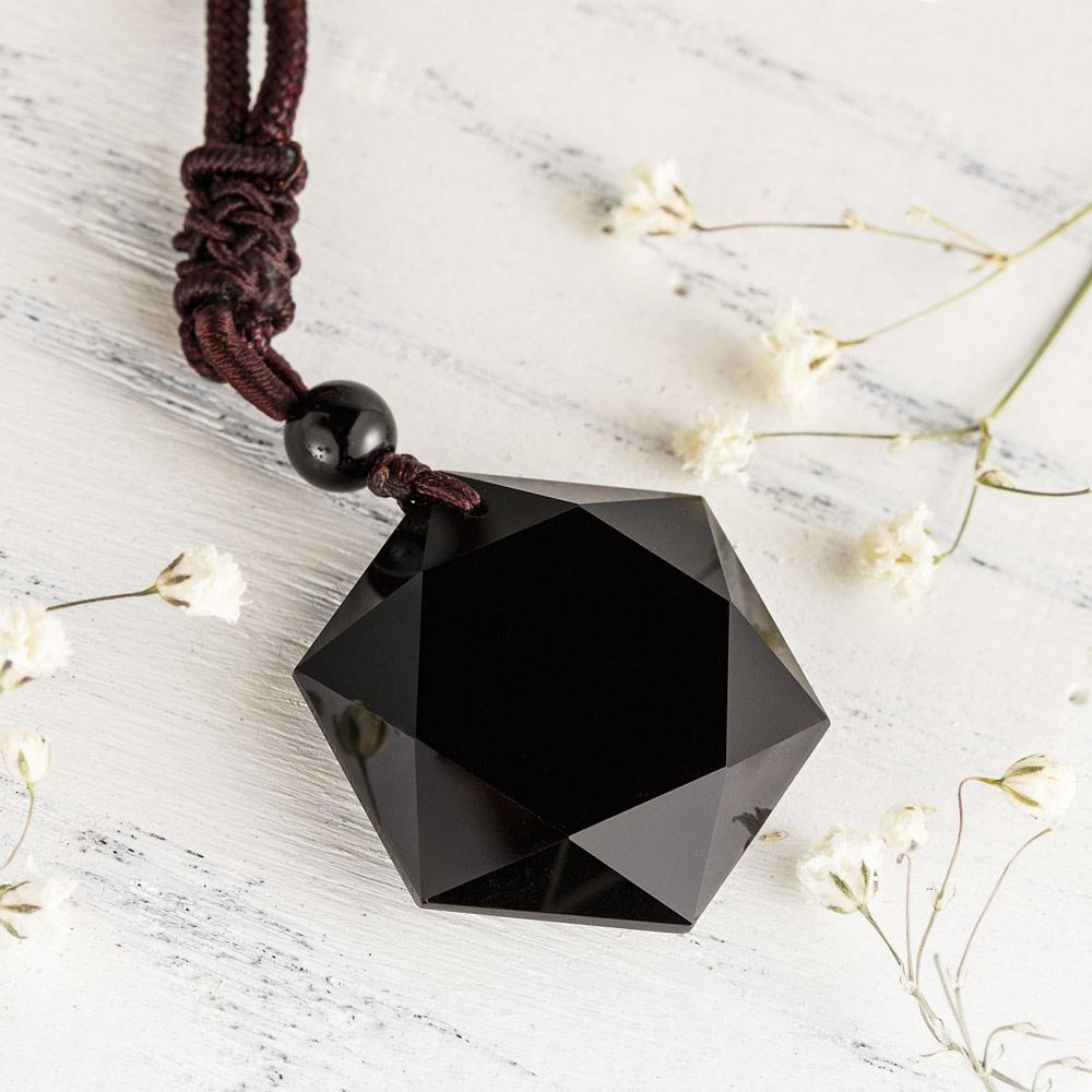 Obsidian Vitality Necklace