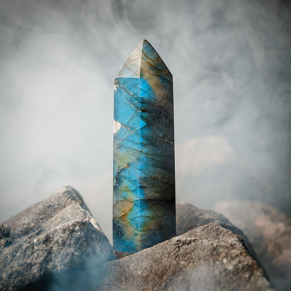 Labradorite Crystal Point