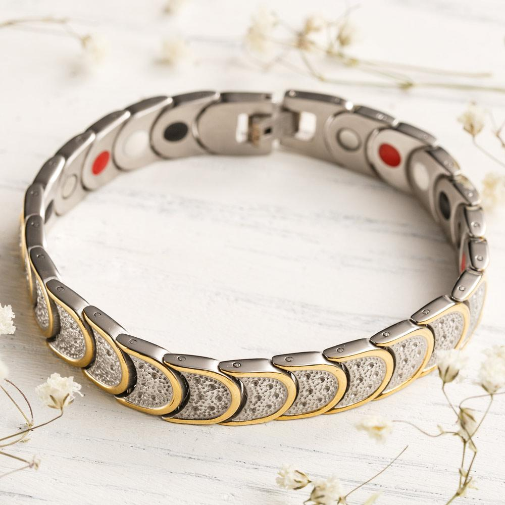 Unisex Magnetic Germanium Power Bracelet