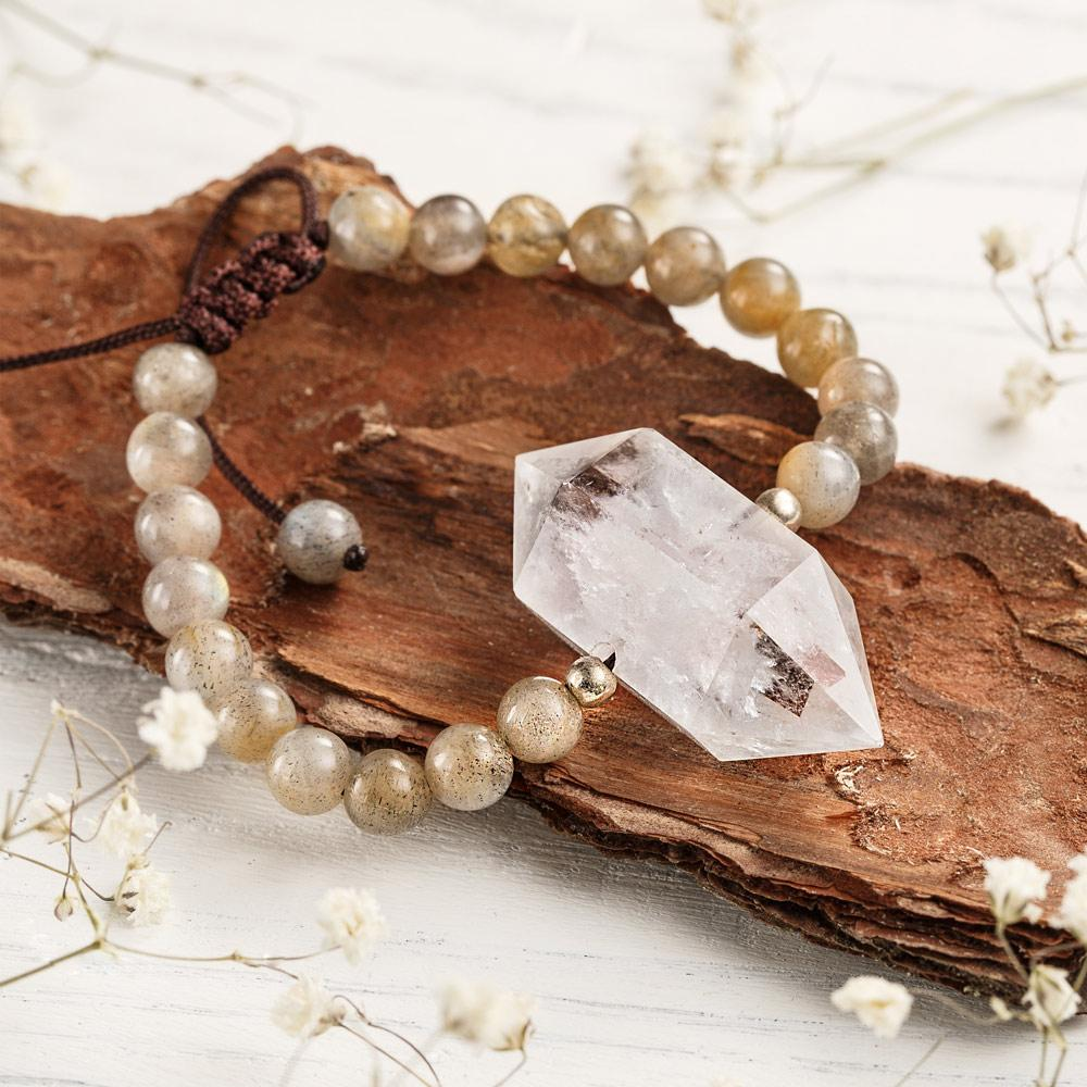 Clear Quartz Manifestation Bracelet
