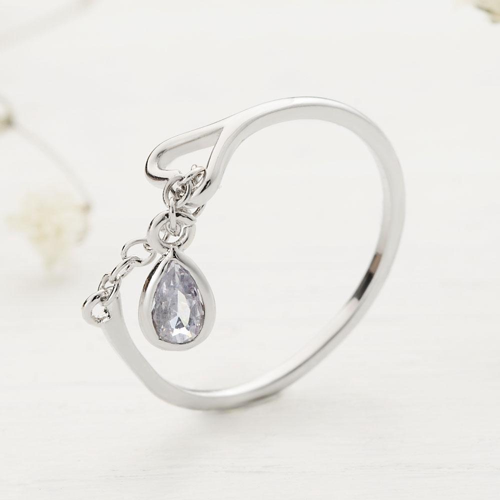 Tear Knot Ring