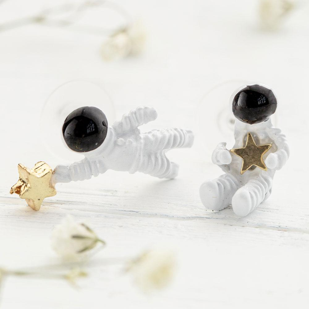 Space Astronaut Earrings