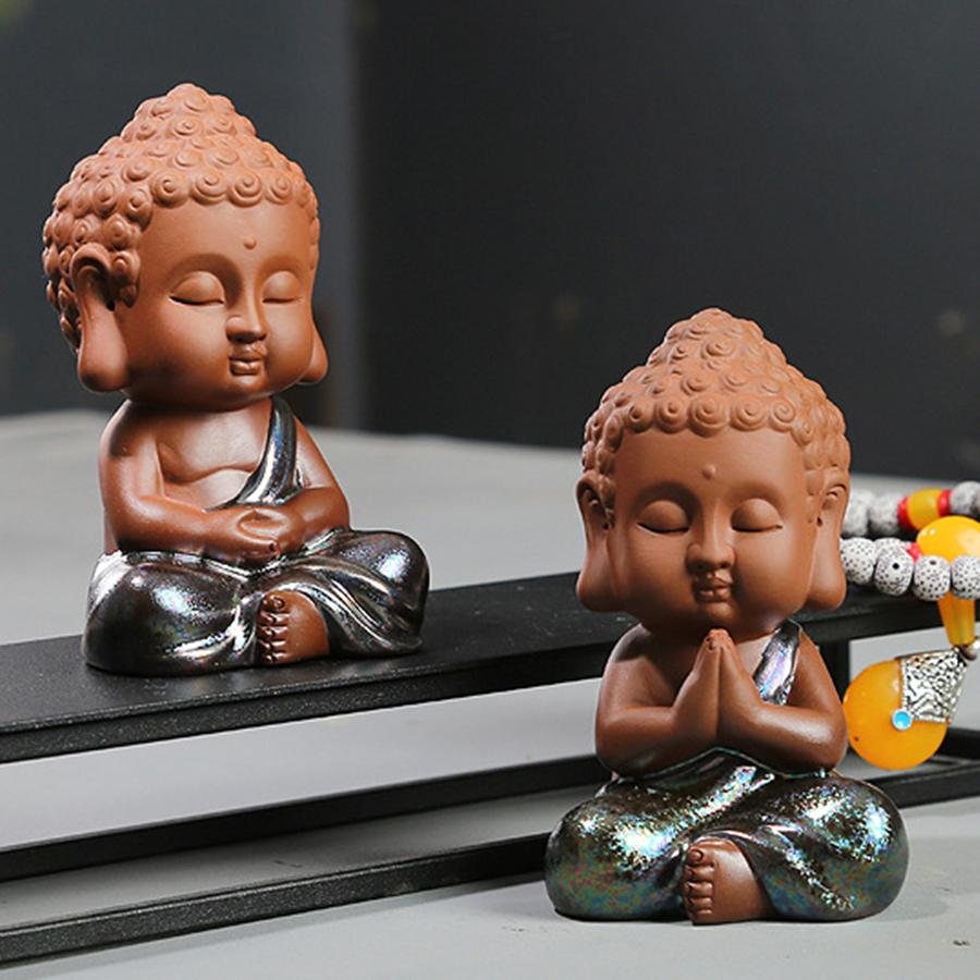 Mantra Buddha Statue Figurine - Home Decor