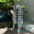 Crystal Glass Prism Wind Chime - Home Decoration