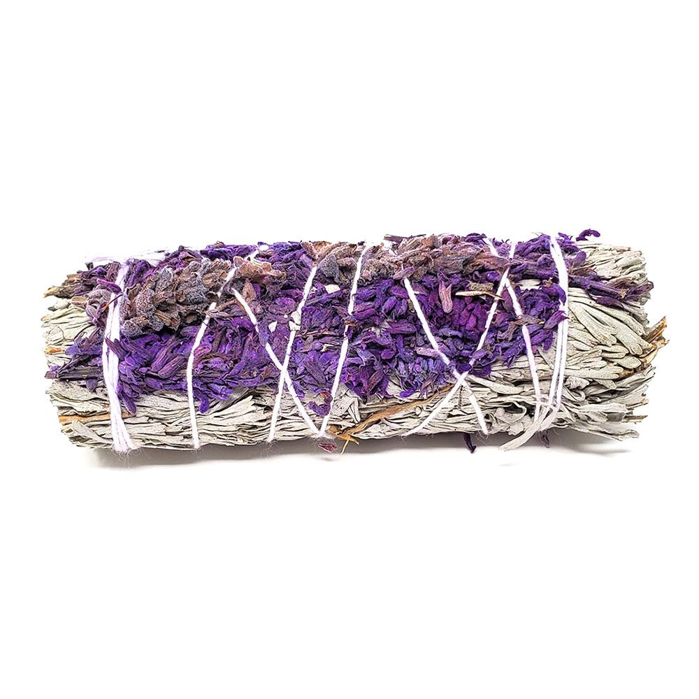 Calming Blue Sage & Lavender Smudge Stick