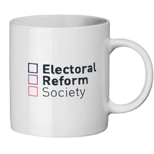 Electoral Reform Society Ceramic Mug - Competition Winner