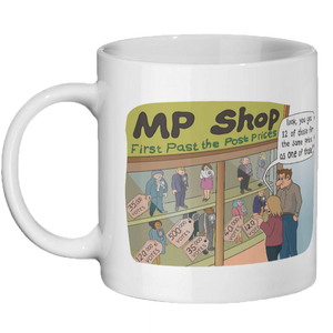 Electoral Reform Society Mug - 2018 Design Competition Winner