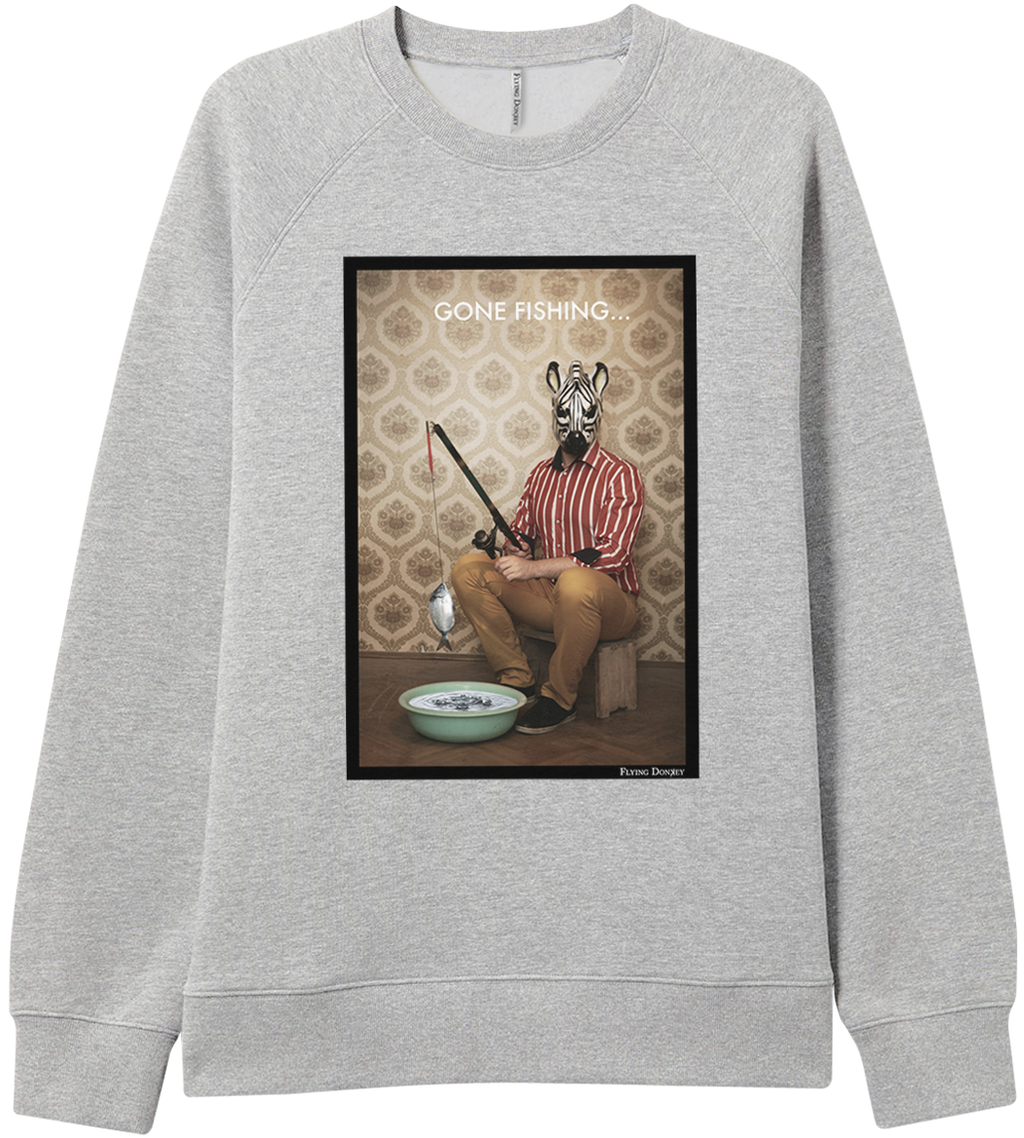 'Gone Fishing' - Sweatshirt