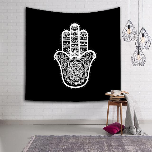 Hand Art Wall Hanging Tapestry