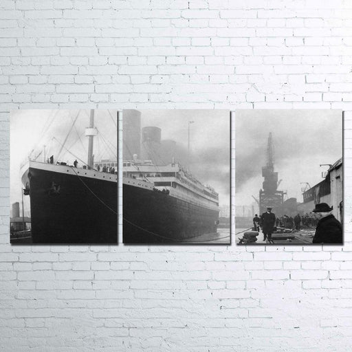 Titanic 3 Piece Canvas For Living Room