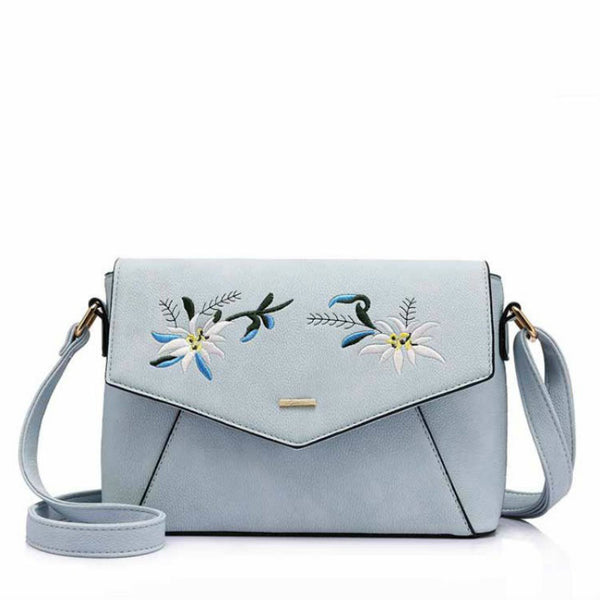 EDEN - Embroidered Pattern Crossbody Bag