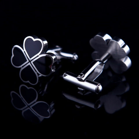 products/Black-Clover-Clove-Design-Polished-Silver-Cufflinks-2.jpg