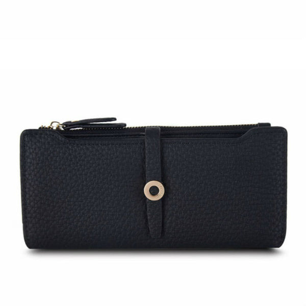 CITY LONDON - Ring Lock PU Leather Purse