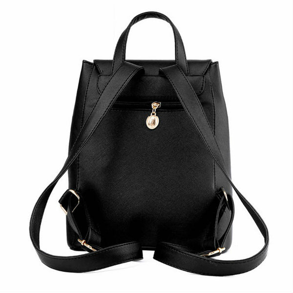 CITY STAR - PU Leather Backpack