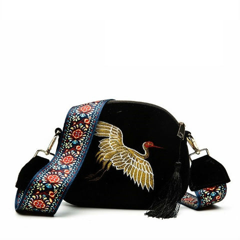products/Eagle-tastic-Fine-Corduroy-Embroidered-Crossbody-Bag-Black-Shoulder-Bag-With-Eagle-Design-Guitar-Strap-And-Tassel-Zip-Image-1.jpg