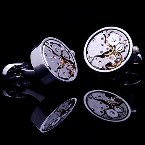 products/Gear-Movement-Winding-Cufflinks-Mens-Luxury-Mechanical-Watch-Tourbillon-Clock-Black-Grey-Dial-Stainless-Steel-Silver-Gold-Finish-Crown-Rhodium-Plated-Base-Metal-Cuffs-Img-2.jpg