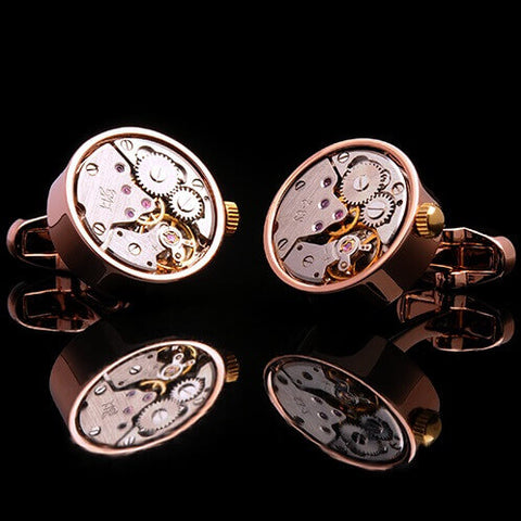 products/Gear-Movement-Winding-Cufflinks-Rose-Gold-Mens-Luxury-Mechanical-Watch-Tourbillon-Clock-Grey-Dial-Stainless-Steel-Pink-Plated-Finish-Crown-Base-Metal-Cuffs-Img-2.jpg