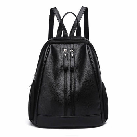 products/Green-Park-Grained-PU-Leather-Backpack-Black-Colour-With-Front-Zip-And-Top-Handle-Image-1.jpg