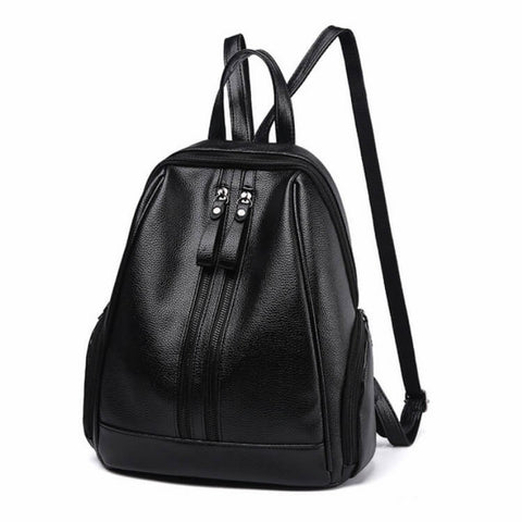 products/Green-Park-Grained-PU-Leather-Backpack-Black-Colour-With-Front-Zip-And-Top-Handle-Image-5.jpg