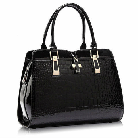 products/Mayfair-Patent-Leather-Croc-Handbag-Large-Black-Top-Handle-Gold-Magnetic-Lock-With-Gold-Zip-Image-1.jpg